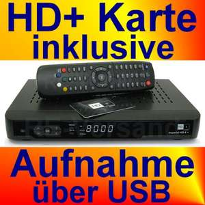 IMPERIAL HD 4+ DIGITALER HD-SAT-RECEIVER (PVR) INKL. 12 MONATE HD+