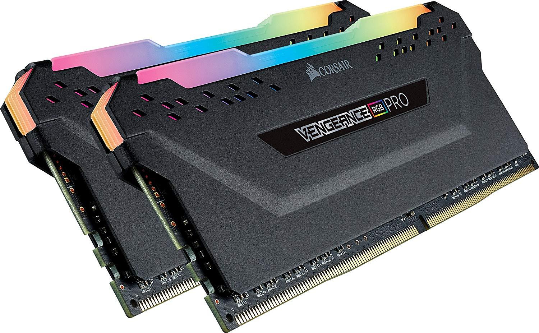 Corsair Vengeance RGB PRO 16GB (2x8GB) DDR4 3200MHz C16 XMP 2.0 Enthusiast RGB LED-Beleuchtung Speicherkit