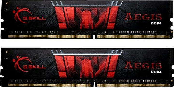 G.SKill AEGIS DDR4 RAM - 16GB (2×8GB), 3000 MHz, CL16, DIMM (Amazon)