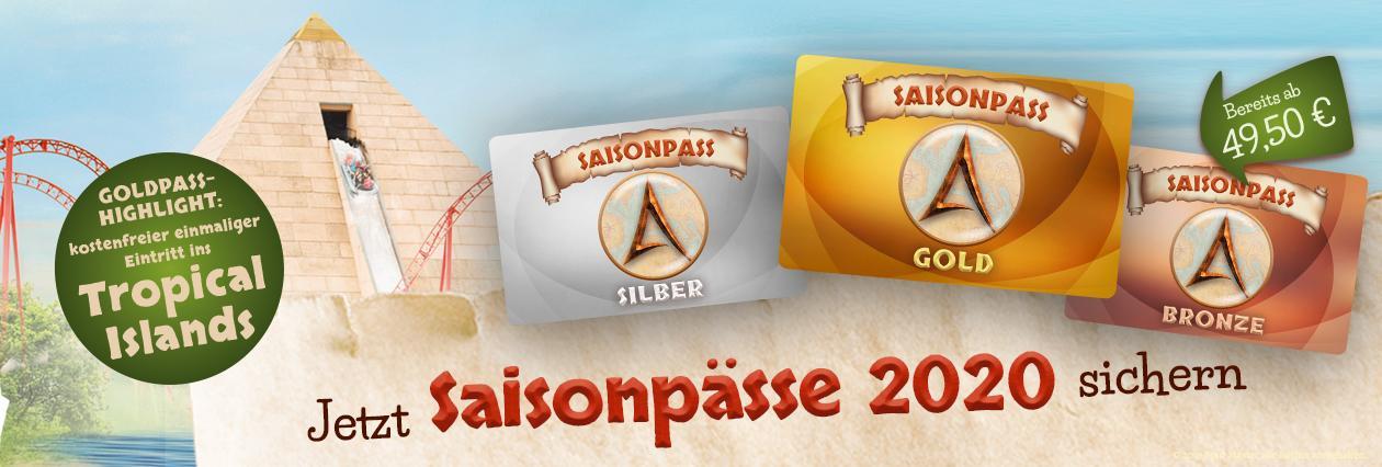 Black Sale Belantis 10€ sparen auf Saisonpass / Silber & Gold