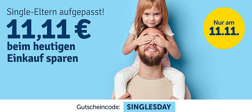[myToys oder yomonda zum Singles Day] ab 111€ gibt es einen Rabatt von 11,11€ - nur HEUTE bei myToys & bis Mittwoch bei yomonda