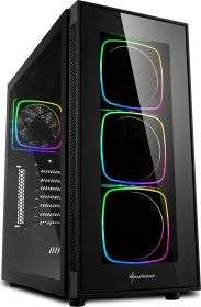 Dubaro Gaming PC 3600X, RX5700XT Thicc III Ultra, 16 GB 3000 MHZ RAM, 480GB SSD, RGB Gehäuse + Spiele