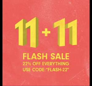 Allike Store 11+11 Flash Sale | 22% auf alles [11.11] Singles Day - Sneaker - Fashion