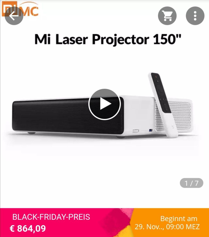 Globale version Xiaomi Mi Laser Projektion