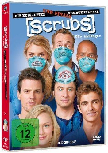 [AMAZON.DE] Scrubs: Die Anfänger - Die komplette und finale neunte Staffel [2 DVDs] *Staffeln 2-8 auch je 6,97 €*