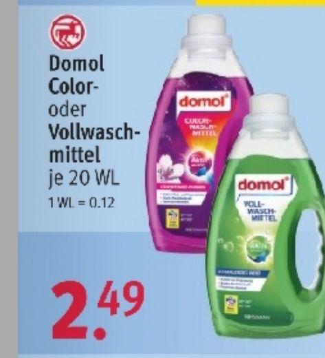 2+1 gratis domol (Wasch und Reinigung) Artikel rossmann