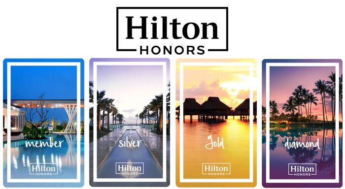 Hilton Honors Silver Status Upgrade kostenlos