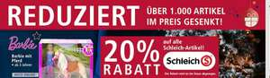 REAL - Schleich -20% + -10% extra Coupon