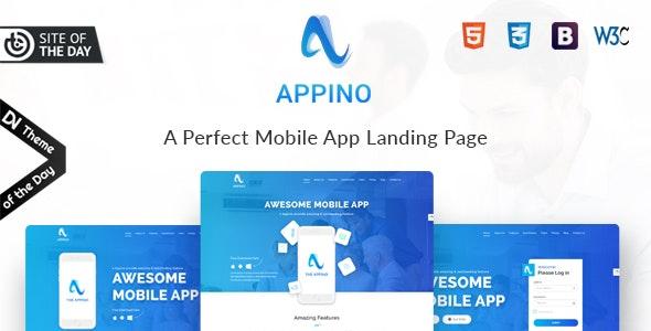 APPINO! - Kostenloses HTML Template