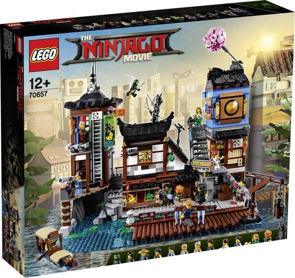 LEGO Ninjago - City Hafen (70657) mit 20% Neukundengutschein (+6fach Payback möglich)