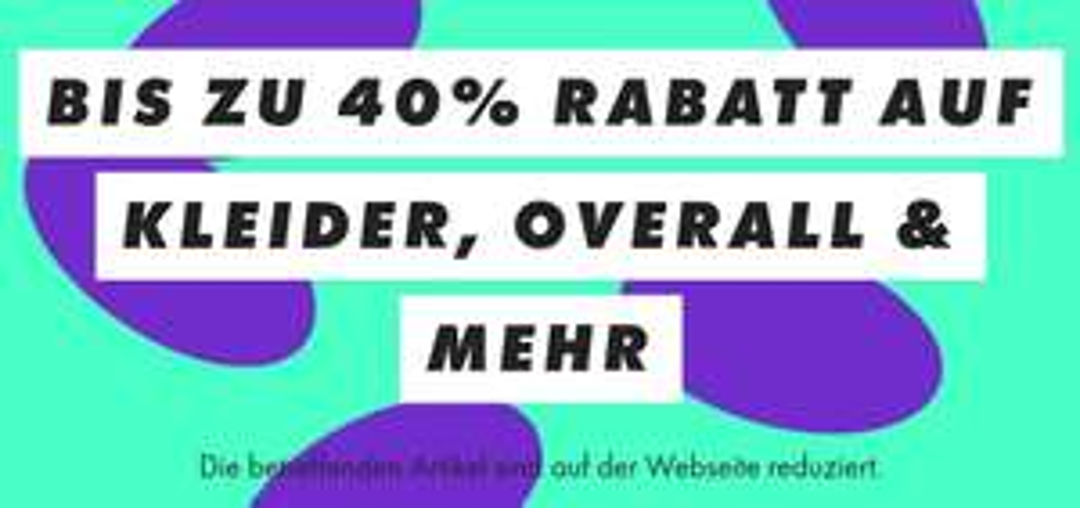 Bis zu 40% Rabatt auf Kleider, Overall & mehr bei ASOS