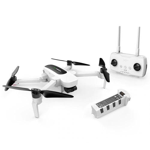 Quadrocopter Hubsan H117S Zino (3840x2160@30fps, 3-Achsen-Gimbal, GPS, Follow, ~23min Akku, ~1km Reichweite, App, faltbar, 700g) [EU-Lager]