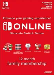 Nintendo Switch Online Familie / Family