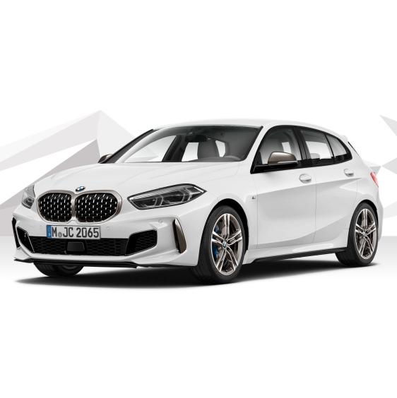 [Privat & Gewerbe] BMW M135i xDrive (306 PS) mit Automatik für mtl. 281€ netto / 334,39€ brutto, LF 0,68, GF 0,74, 36 Monate, konfigurierbar