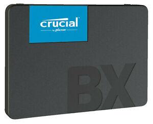 """Crucial BX500 120GB SSD (2.5"""", 3D-NAND-TLC, 540MB/s lesen, 500MB/s schreiben) für 19€ / über eBay für 17,10€ bei Abholung [Saturn]"""