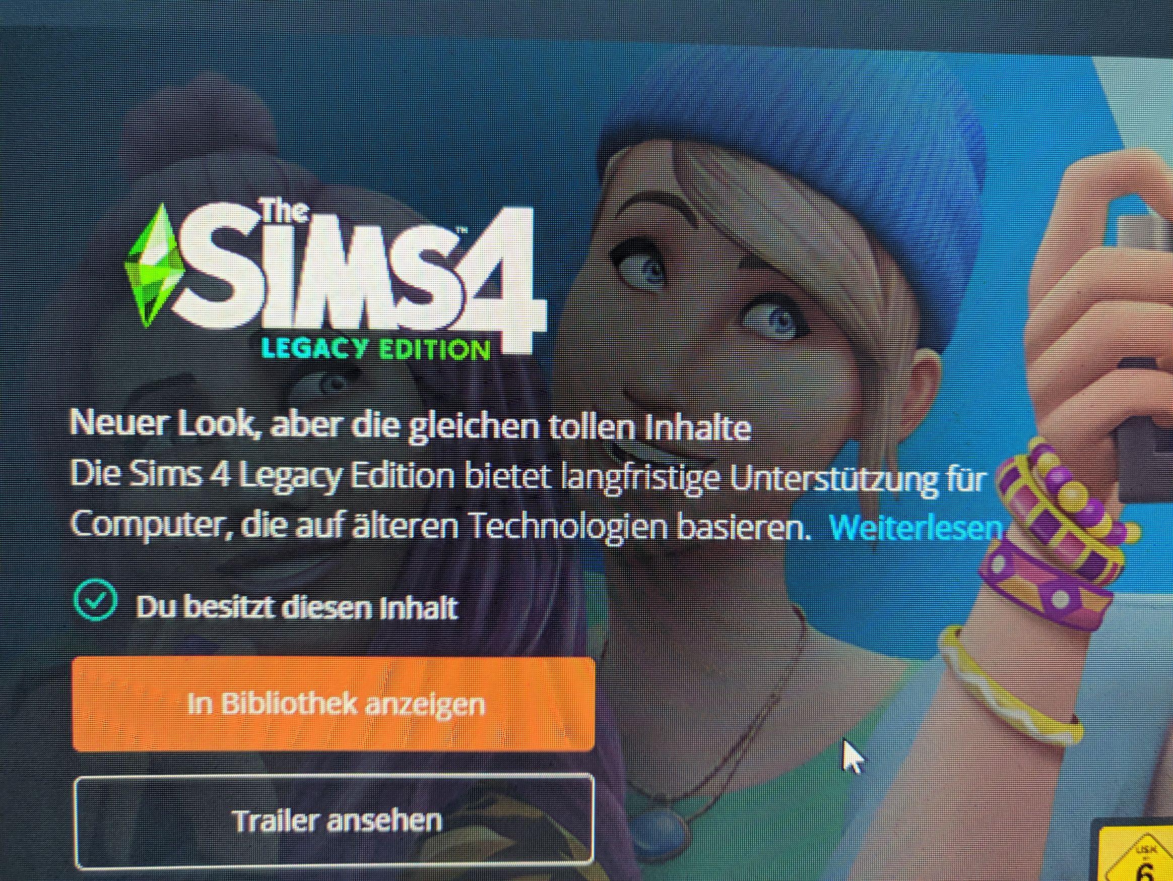 Sims 4 Legacy Edition Kostenlos (Zusatzinhalt)