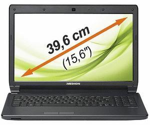 MEDION 99050 (E6228) - Laptop 15,6'', i3 (2,4GHz), 4GB RAM, 750GB HDD