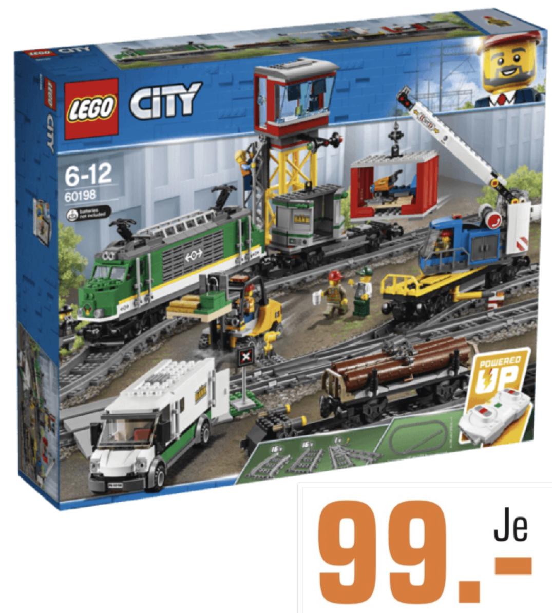 Lokal Saturn Chemnitz: LEGO City 60198 Güterzug für 99€