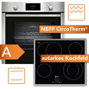 NEFF Backofen XB36 Kochfeld autark CircoTherm Umluft Heißluftsystem TouchControl