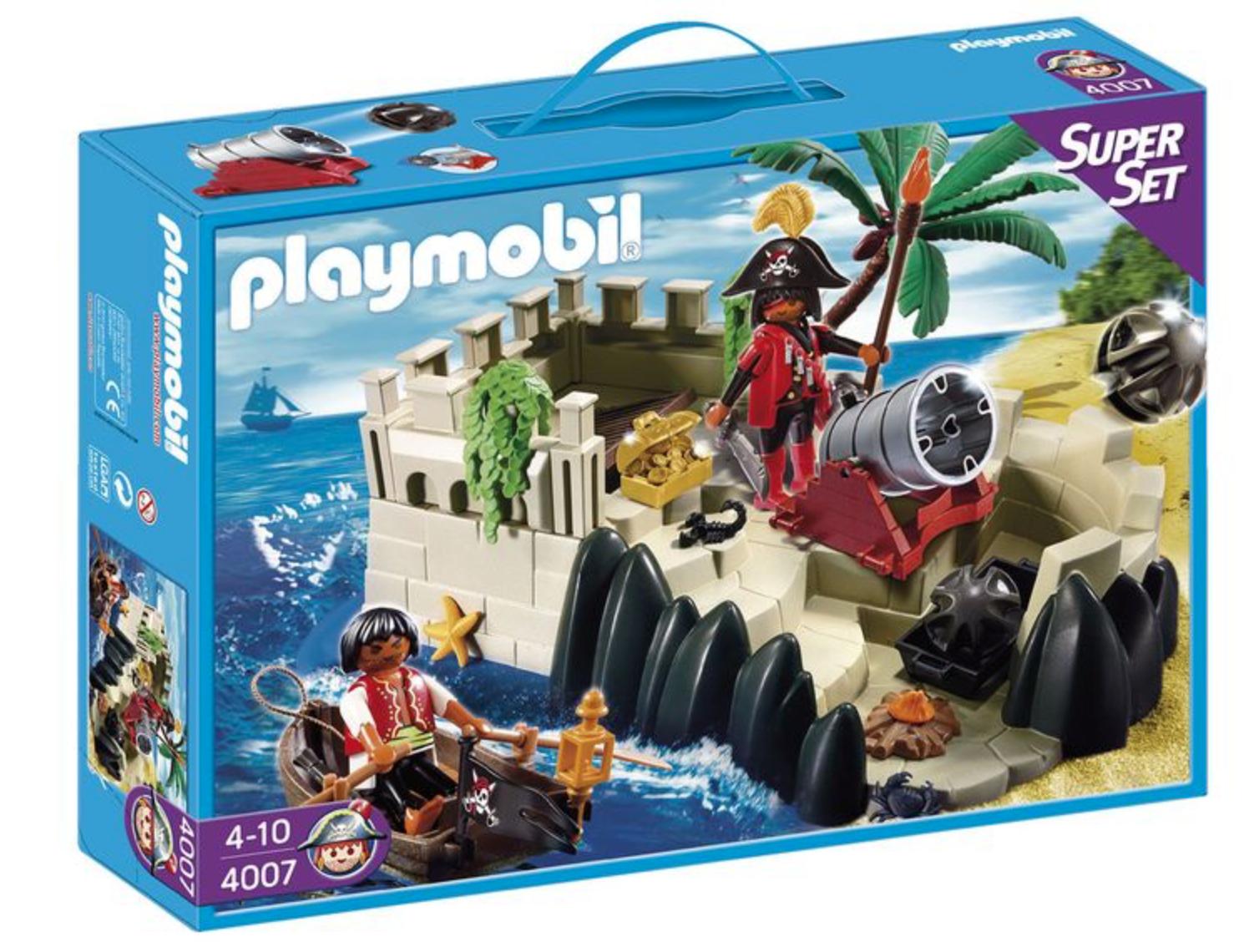 Playmobil Sets im Angebot bei [Lidl] z.B. Piratenfestung SuperSet