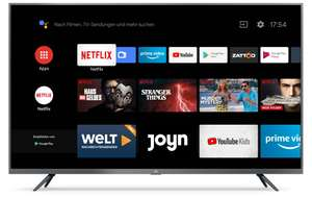 "[REAL] Xiaomi Mi 4K Ultra HD LED 108cm (43 Zoll) MI SMART TV 4S 43"" Android TV 9.0, Triple Tuner"