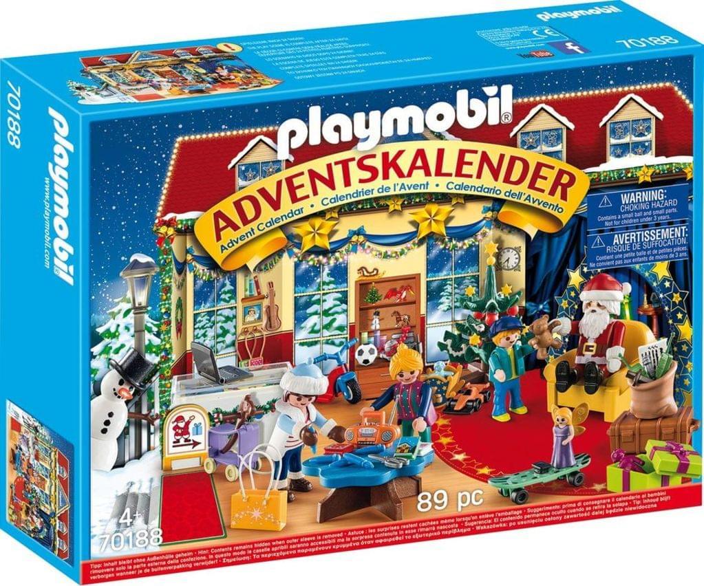 Playmobil Adventskalender im Angebot bei [real] z.B. Weihnachten im Spielwarengeschäft