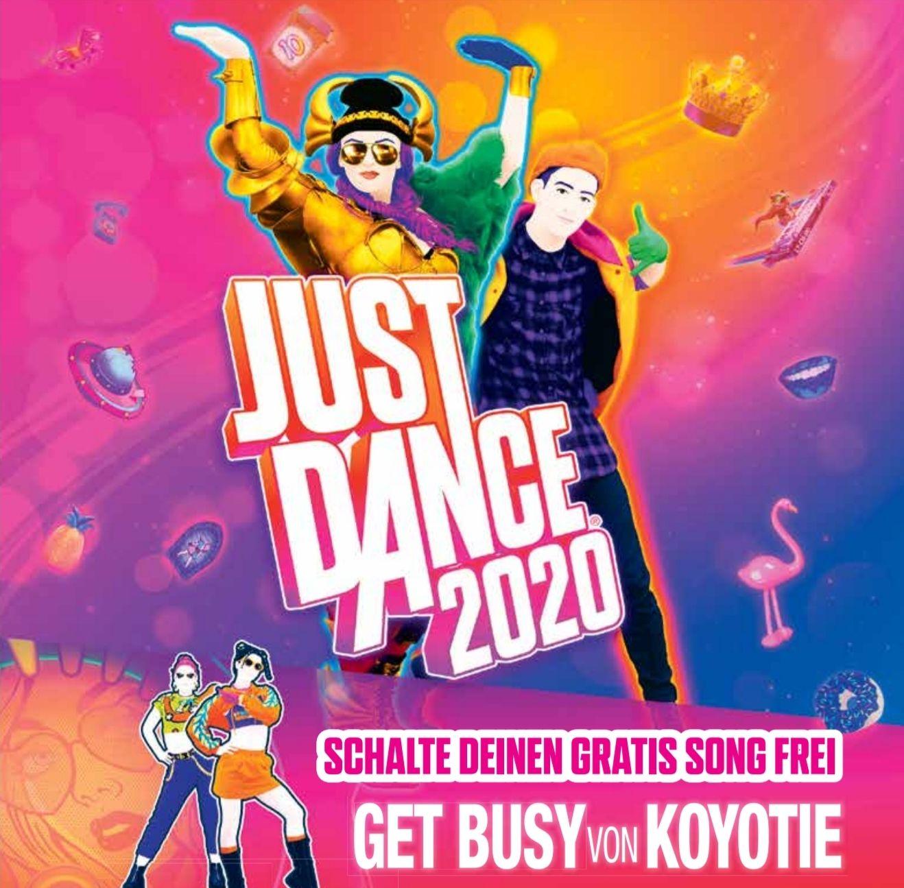 [Just Dance 2020] Kostenloser Song: Get Busy von Koyotie