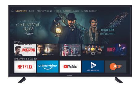 [EXPERT] Grundig 65 GUB 7065 - Fire TV Edition 4K Ultra HD TV (Smart TV, 4K, HDR, Sprachsteuerung)