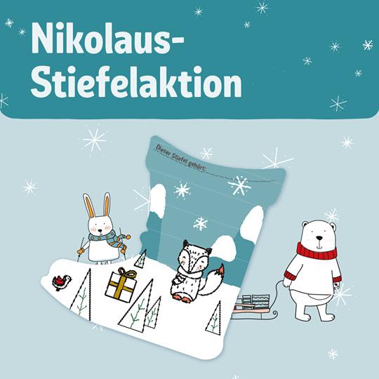[Rewe ab 25.11.] Nikolausstiefel-Aktion: Basteln und kostenlos befüllen lassen (bis 12 Jahre)