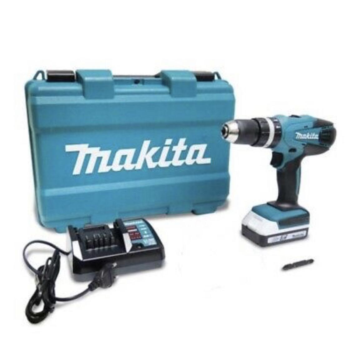 Makita Akku Schlagbohrschrauber HP457DWE mit Koffer