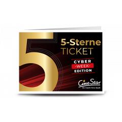 CineStar 5-Sterne-Ticket - Cyber Week Angebot für das Kinojahr 2020