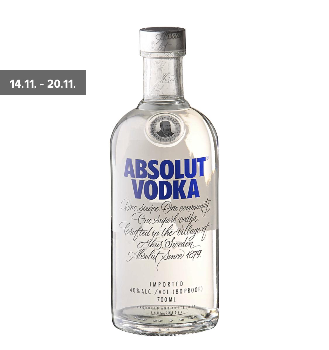 [Kaufland] Absolut Vodka 9,99€ in Berlin