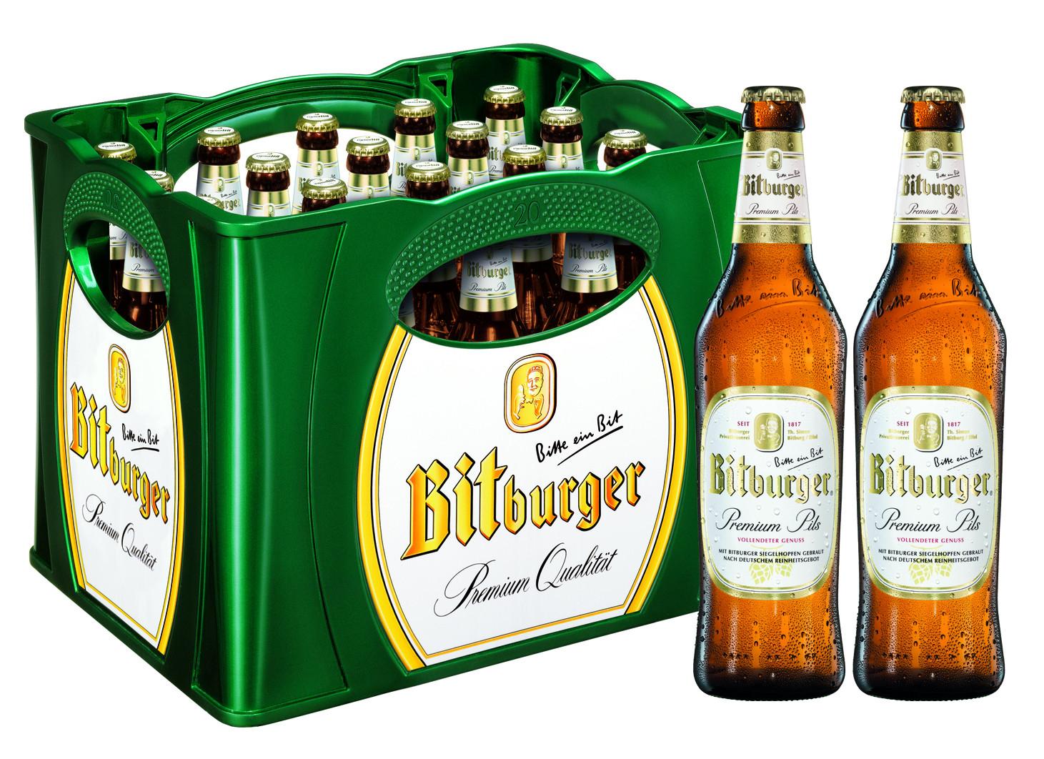 [Kaufland] nur am 16.11 Bitburger Bier 20x0,5L für 10,00€