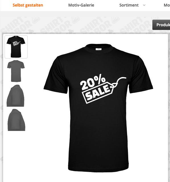 Shirtlabor: 20% Rabatt auf ALLES, z.B. T-Shirts, Pullis und vieles mehr selbst bedrucken