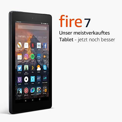 Fire 7-Tablet, 8 GB mit Spezialangeboten (vorherige Generation – 7.) Amazon Prime