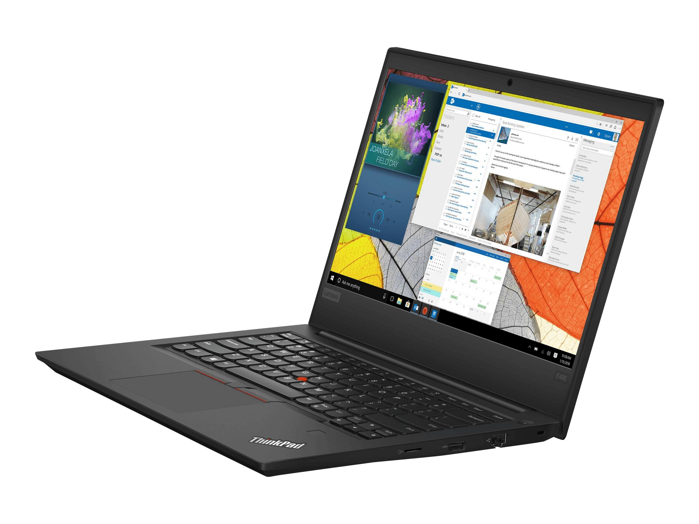 "[Lenovo.com] ThinkPad E495 / AMD Ryzen 5 3500U / 14"" FHD / 16 GB RAM / 512 GB SSD / 1 Jahr Garantie"