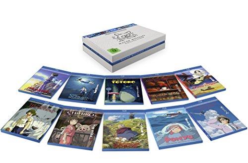 Miyazaki Studio Ghibli BluRay Collection für 118 Euro