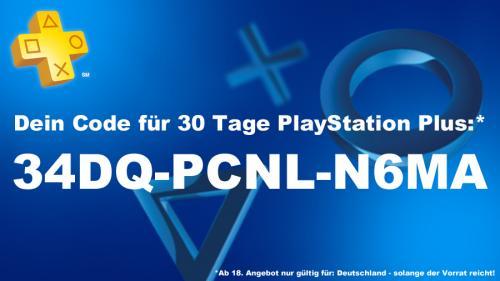 PlayStation Plus (DE) - 30 Tage kostenlos - (KK erforderlich)