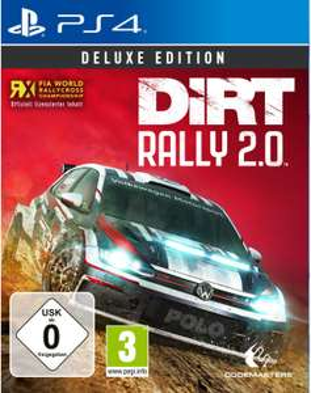 DiRT Rally 2.0 Deluxe Edition [PS4 oder Xbox One] für 31,99€ versandkostenfrei
