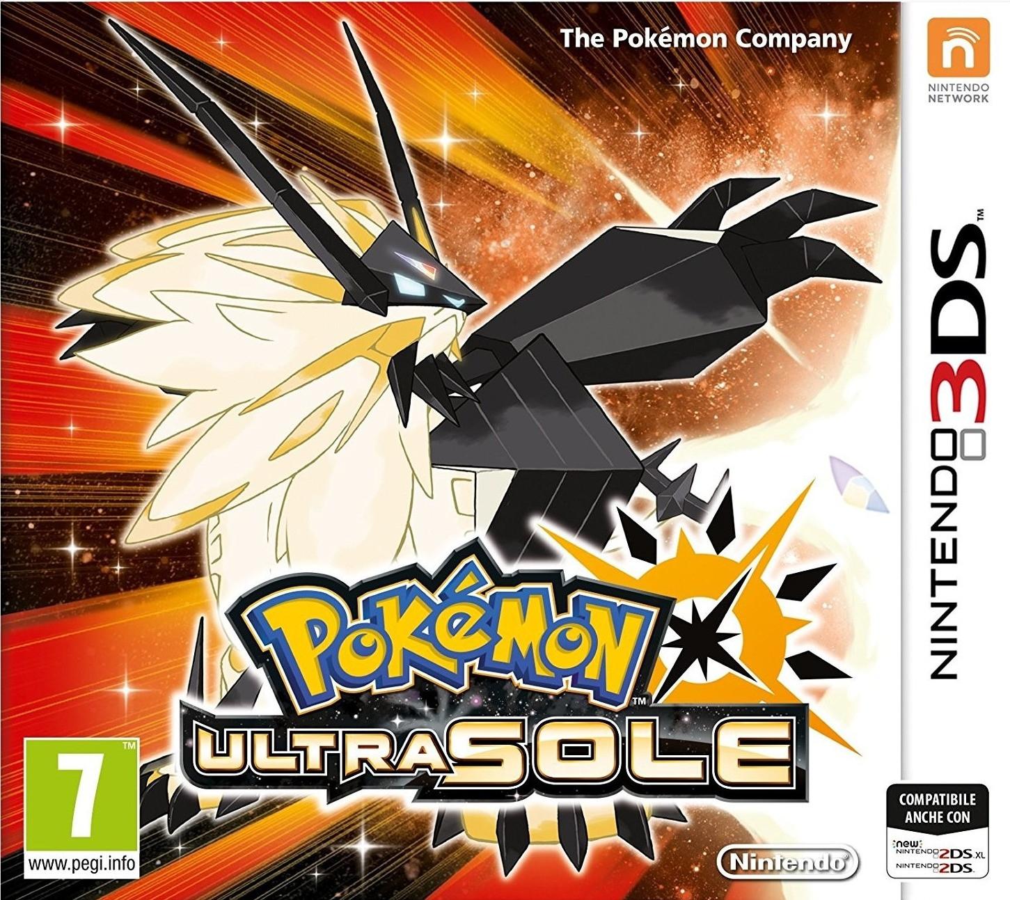 Pokémon: Ultrasonne & Ultramond (3DS) für je 23,53€ (Amazon IT)