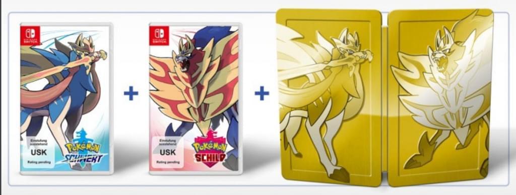 Pokémon Schwert und Pokémon Schild - Doppelpack [Nintendo Switch]