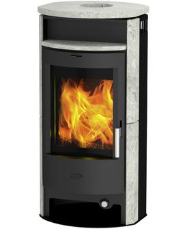 """6KW Dauerbrand Kaminofen Fireplace """"Porto"""" Speckstein bei Hagebau mit Kundenkarte 678,03€"""