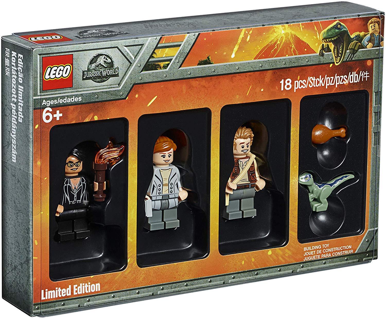 LEGO 5005255 Jurassic World Limited Edition Minifigures Set inkl. Jurassic World T-Shirt für ca. 18,68 Euro [zavvi.com]