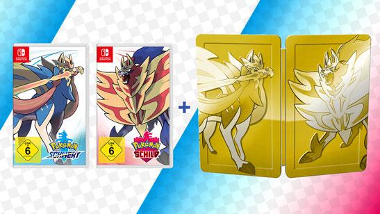Pokémon Schwert & Schild Doppelpack