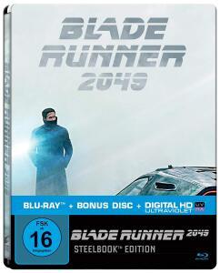 Blade Runner 2049 Limited Steelbook Edition (Blu-ray + Bonus Blu-ray + UV Copy) für 9,99€ versandkostenfrei (Saturn)