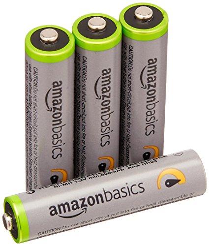 AmazonBasics Sammeldeal: z.B. 4x AAA Akku Batterien 5,99€, HDMI-Umschalter mit 3 Anschlüssen für 8,99€, 24x AA Akku Batterien 26,24€