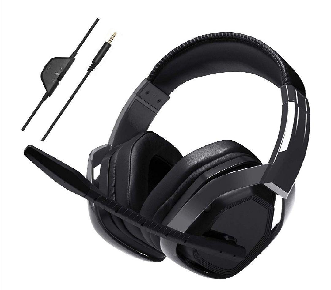 AmazonBasics - Professionelles Gaming-Headset, Schwarz