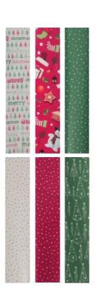 [Zeeman] Weihnachtsgeschenkpapier 70 x 200 cm für 39 Cent