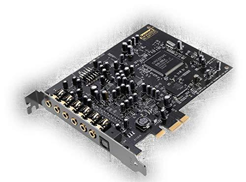 [amazon.de] Creative Sound Blaster Audigy Rx PCIe-Soundkarte (7.1-Surroundklang, zwei Mikrofoneingänge, Hardware-beschleunigte EAX-Effekte)