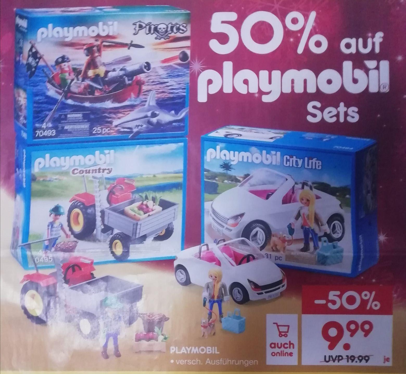 [Netto ab 18.11 on/offline] Alle Playmobil Sets 50% günstiger
